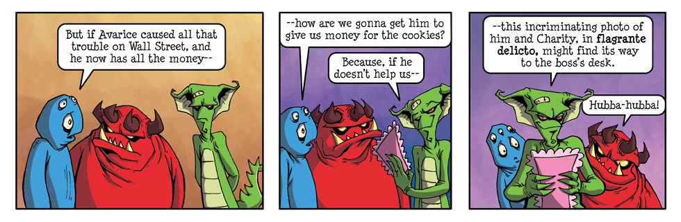 "Luci Phurr's Imps ""Cookies & the Call Center"" #9"