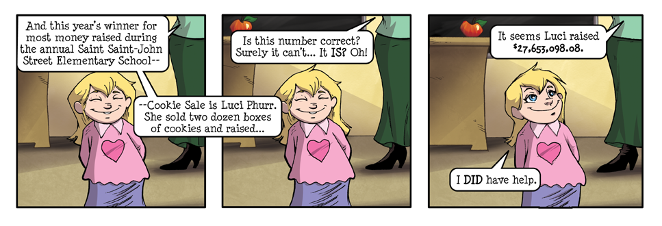 "Luci Phurr's Imps ""Cookies & the Call Center"" #15"